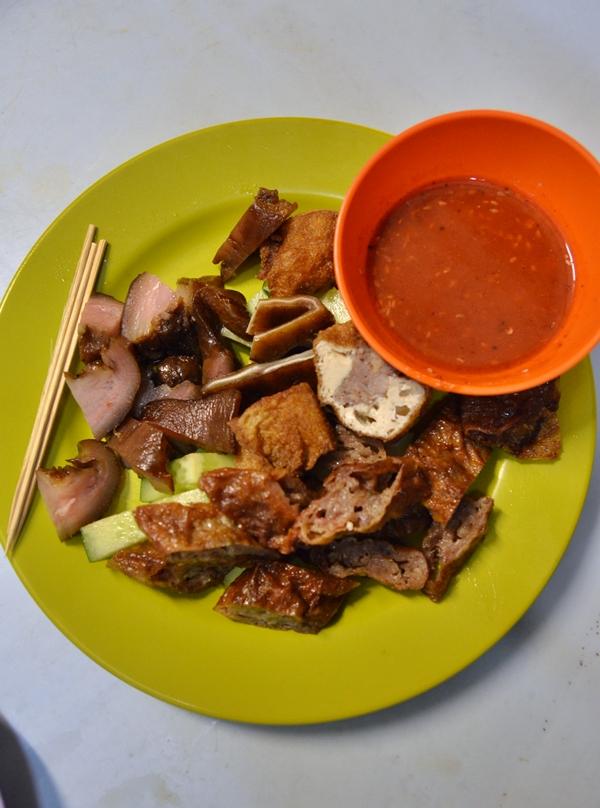Mixed Pork Platter