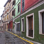 Izola, coloured streets