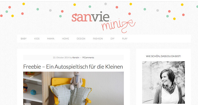 blog love // sanvie mini