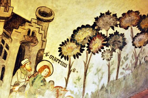 Wahrzeichen Stadt Basel Baseler Münster historische Altstadt Domkirche Außenfassade roter Sandstein Krypta Kreuzgang Skulpturenschmuck Pflanzendarstellungen Tierdarstellungen romanisch gotisch Architektur Schweiz Rhein Foto Brigitte Stolle
