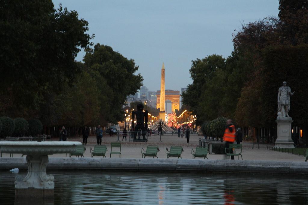 Concorde and the Arc de Triomphe - Paris' Historical Axis