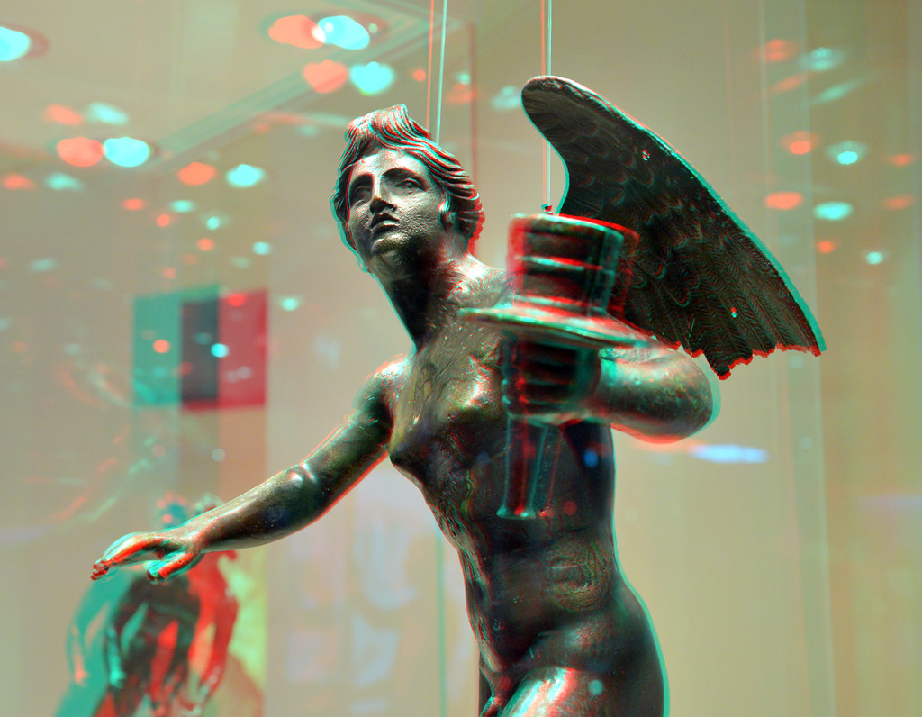 bronze Figure from Mahdia Shipwreck 3D