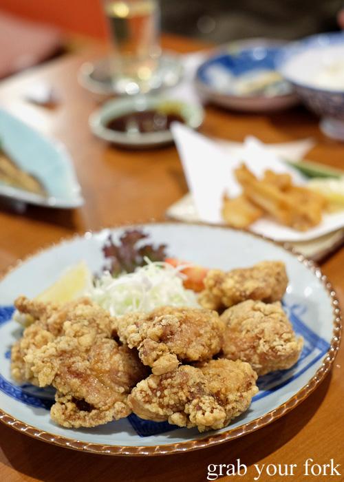 Karaage fried chicken at Nom, Darlinghurst