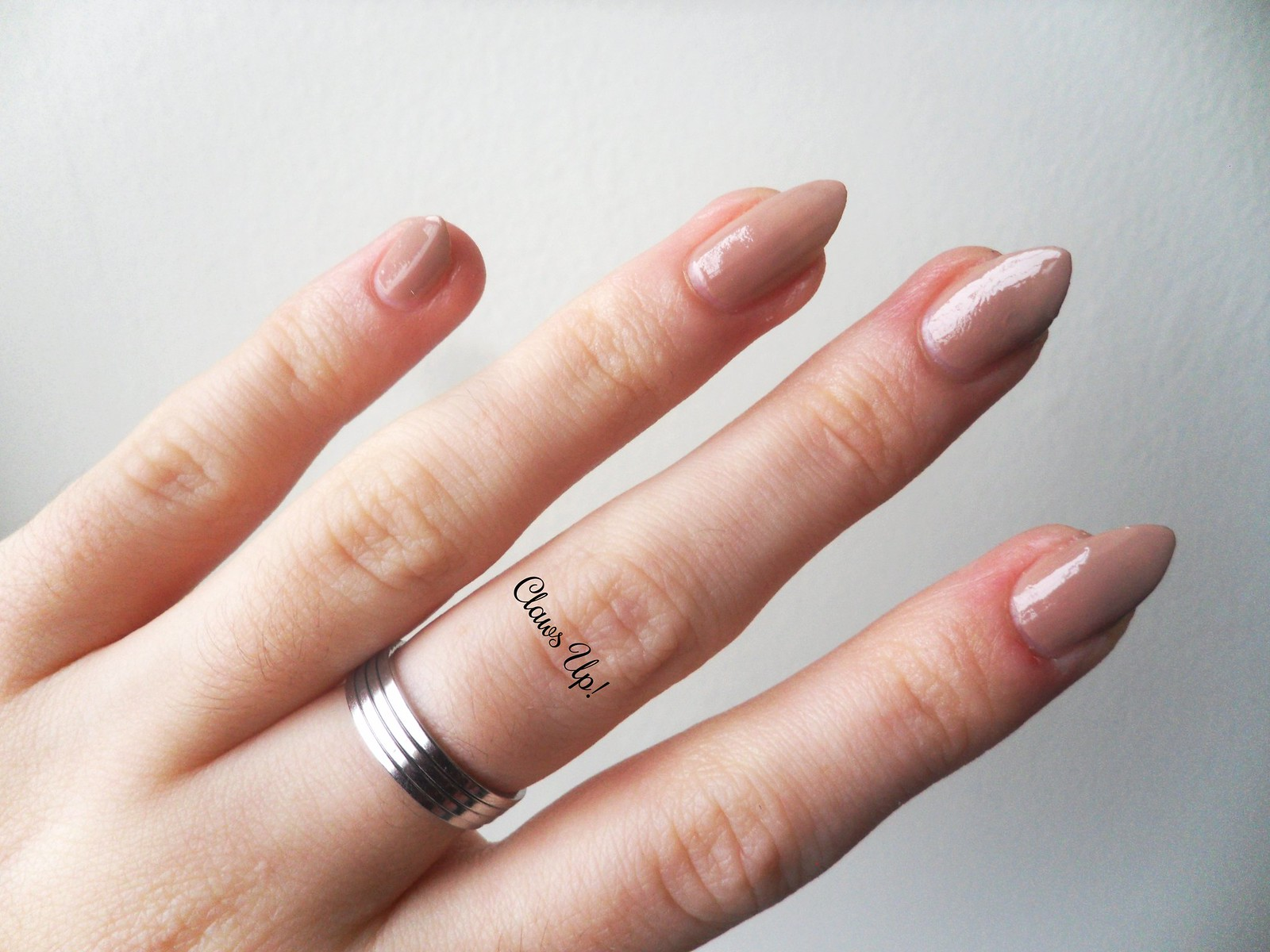Born Pretty Store Simple Silver Rings