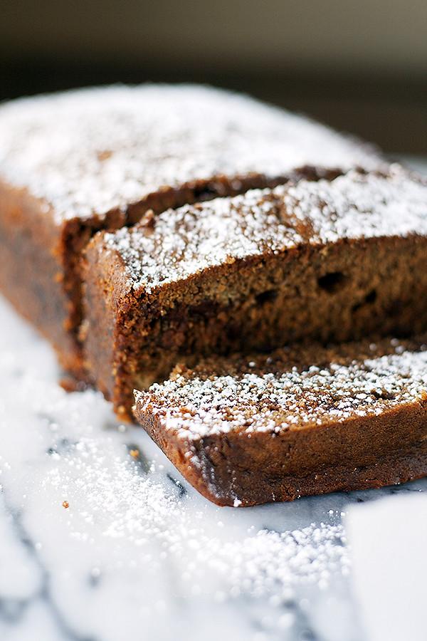 buttermilk gingerbread loaf