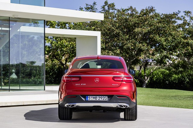 Mercedes-Benz GLE 450 AMG Coupé