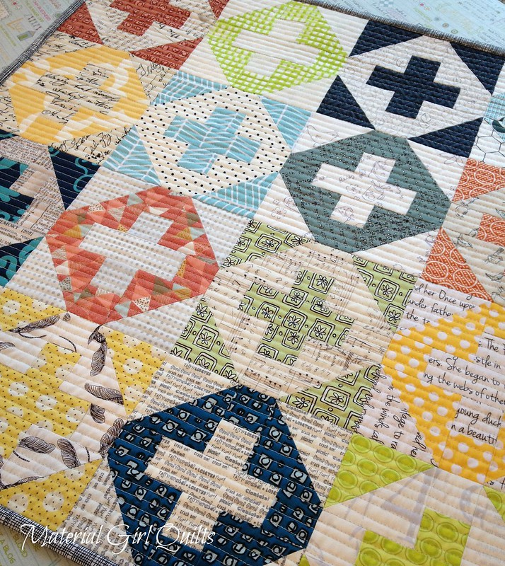Inside Addition quilting detail
