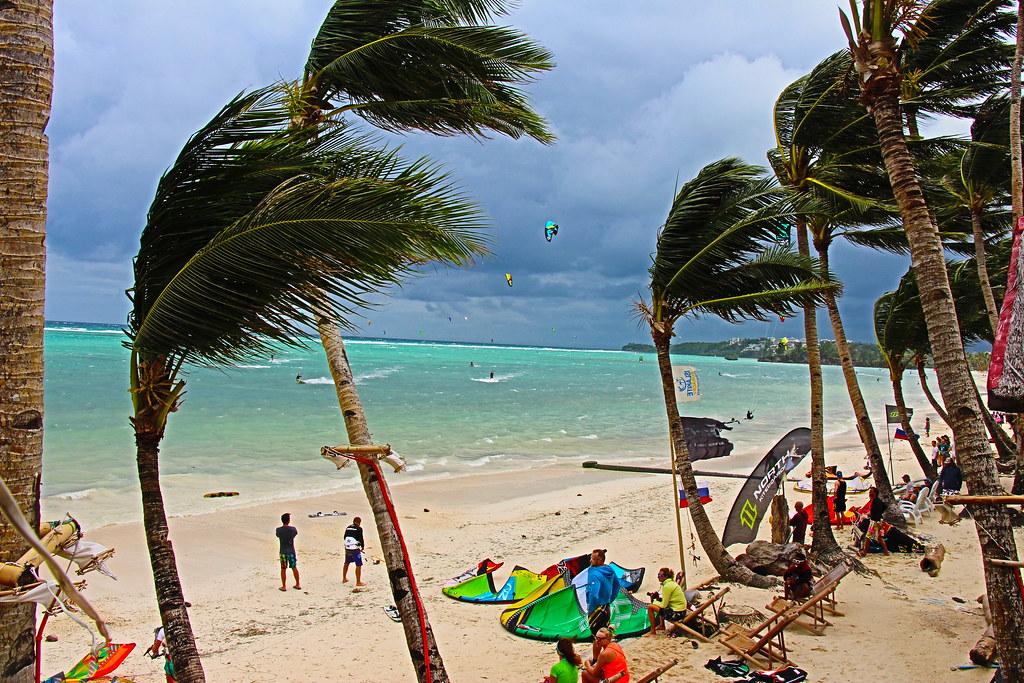Bulabog beach, kite surfing beaches, windsurfing philippines
