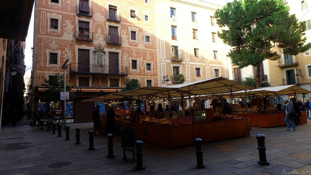 Barcelona day_1, Plaça del Pi