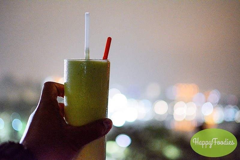 Fruit Shake at the rooftop