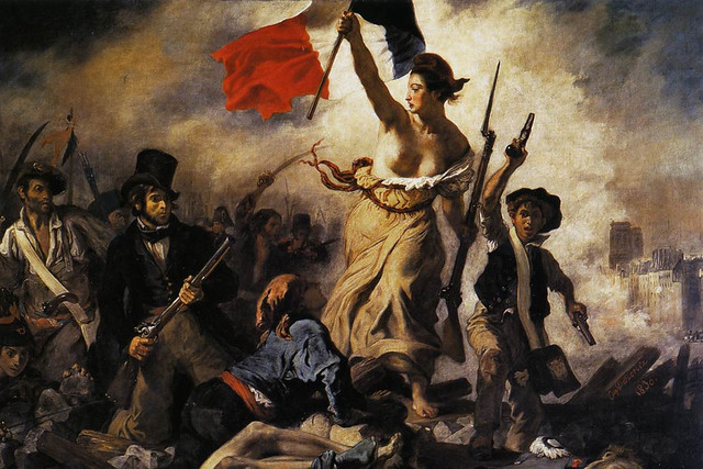 Liberty Leading the People (28th July 1830) by Eugène Delacroix (1798–1863)