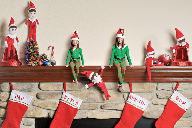 elves on the shelf