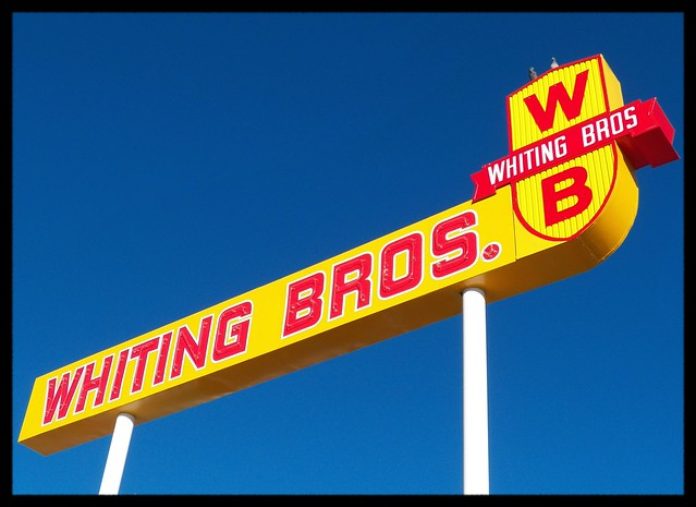 Sal and Inez's Service Station (Whiting Bros.) - 421 Highway 66, Moriarty, New Mexico U.S.A. - January 6, 2016