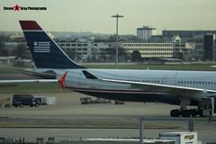 N276AY - 375 - US Airways - Airbus A330-323 - Heathrow - 141220 - Steven Gray - IMG_2678
