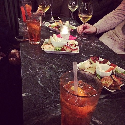 Special moments with special friends:) Aperitivo speciale con amici speciali:)