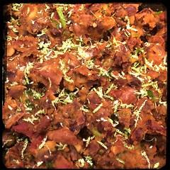 #CucinaDelloZio - #Homemade #RefriedBeans - lime zest!