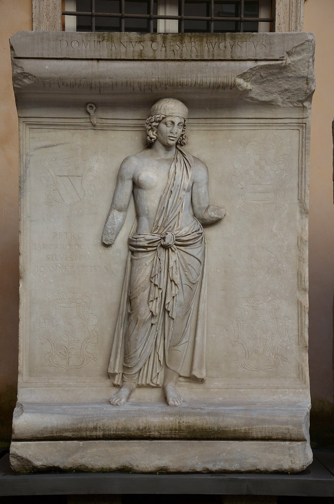 Representation of one of the Roman provinces, perhaps Achaia, relief from the Hadrianeum, a temple of the deified Hadrian in the Campus Martius, dedicated by Antoninus Pius in 145 AD, Capitoline Museum