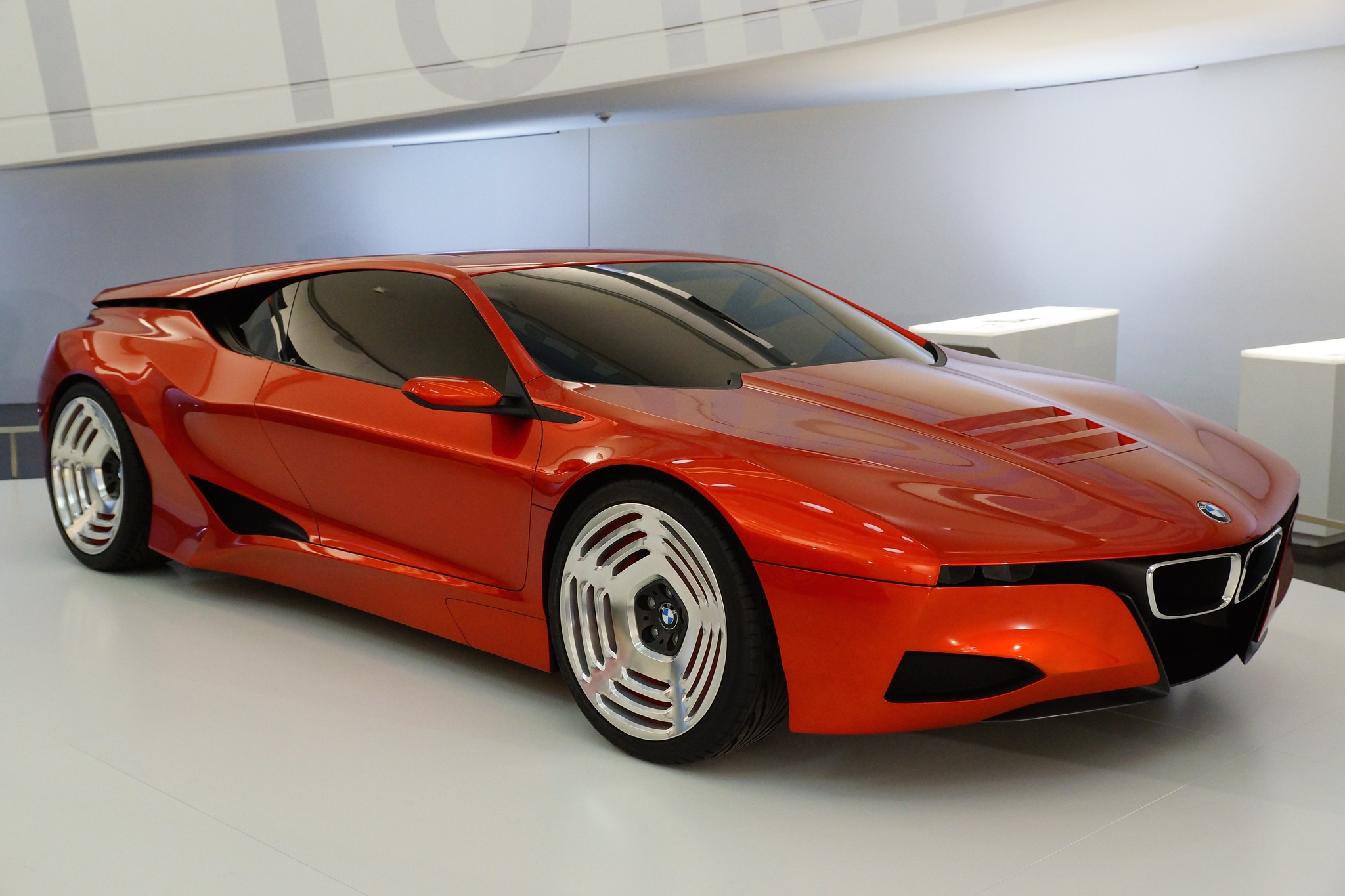2008 Bmw M1 Hommage At The Bmw Museum In Munich Bavaria Germany Flickr Photo Sharing