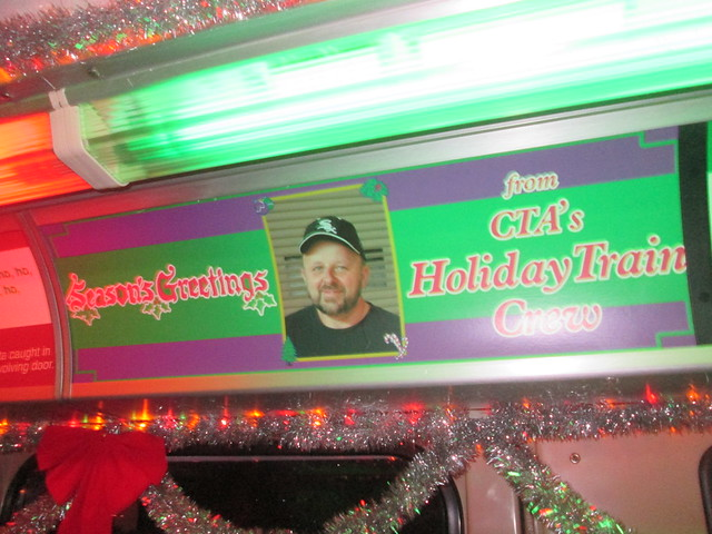Inside the Yellow Line Holiday Train - Season's Greetings from the Holiday Train crew