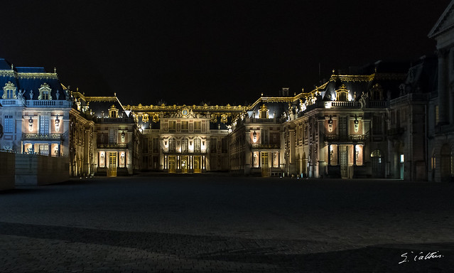 Versailles, the Castle and the Park at the end of day 43/50