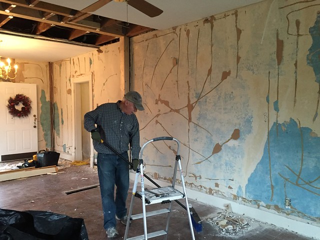 When Plaster Lurks Below the Surface - Old Town Home