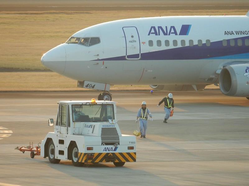 KCZ ANA B737-500