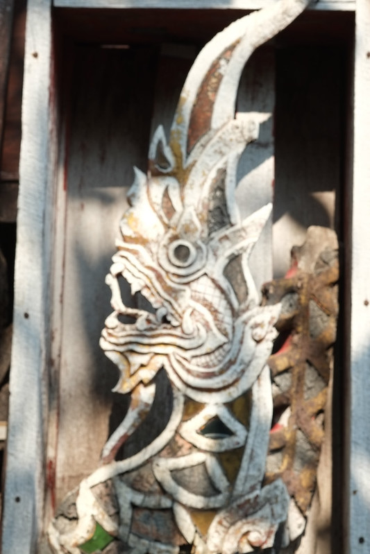 Wat Ket Karam ... Historic Roof Dragons