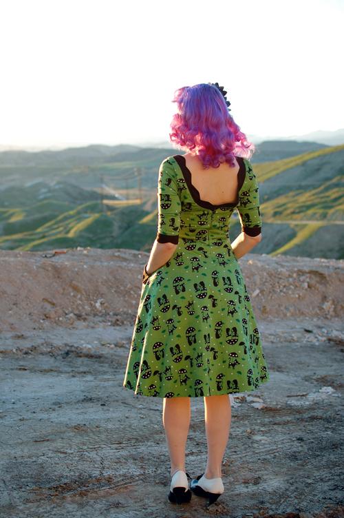 Voodoo Vixen Katnis dress