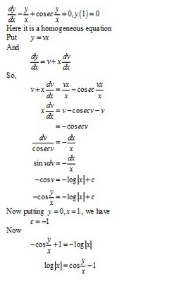 RD Sharma Class 12 Solutions Chapter 22 Differential Equations Ex 22.9 Q36-iii