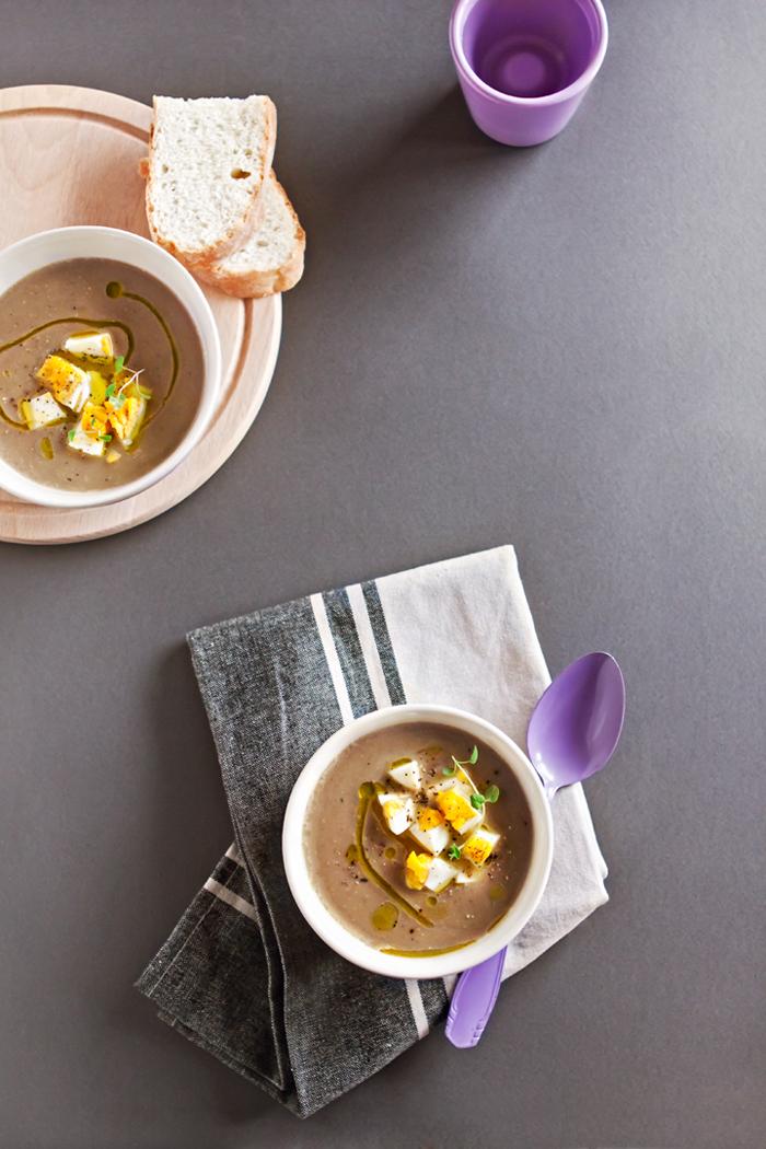 крем супа от кафява леща