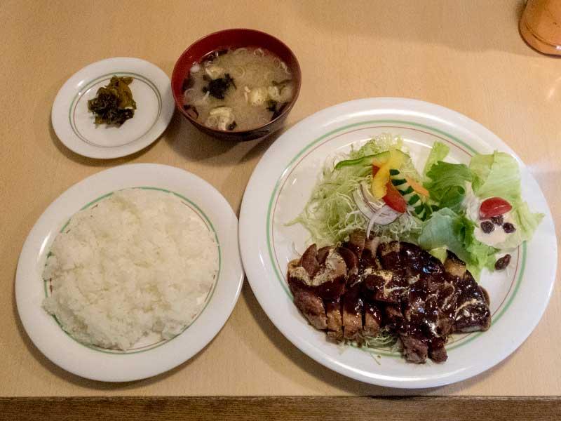 コション ポークソテー定食