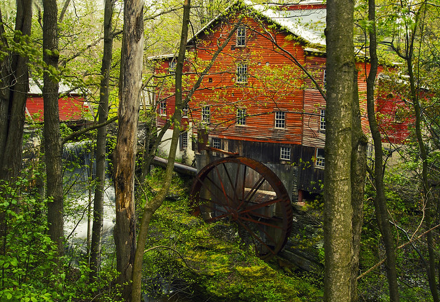 Spring @New Hope Mills