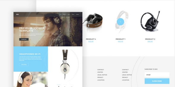Box v1.0.0 - Sales Branding Joomla 3.x Template