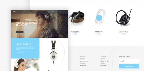 Box v1.0.0 – Sales Branding Joomla 3.x Template