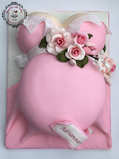 Baby Bump Cake by Marzena Anna Romanik -Cwik YummCake With Fantasy