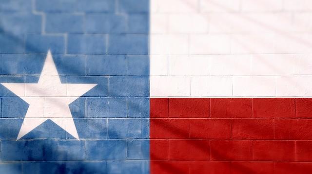 Texas Flag Cinder Blocks Star Red White Blue DSC_7762PL
