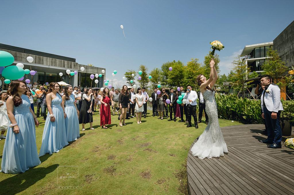宜蘭,古堡餐廳,戶外證婚,婚禮記錄,婚禮紀實,綠攝影像,阿三,周上,蕃薯爸,交換戒指