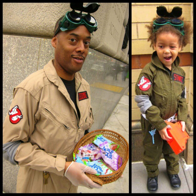 My 2 favorite #Ghostbusters: @whatmashekadid and Ms. Z.