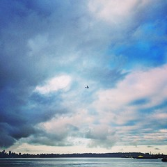 Where are you off to my friend?   #airplane #sky #clouds #vancouver