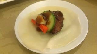 Crispy Beijing Duck Wrap at Green Gourmet