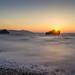 sunset beach by jyunbo
