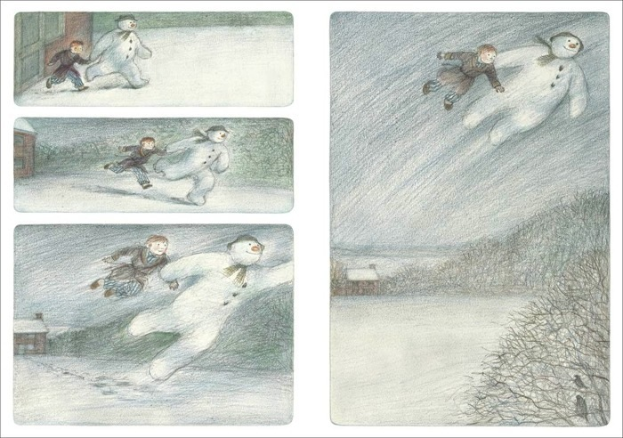 Walking In the Air Ravacholle Lifestyle Blog | British Crush: The Snowman by Raymond Briggs