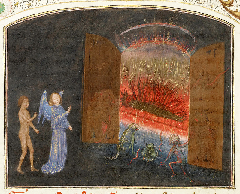The Gates of Hell and Lucifer