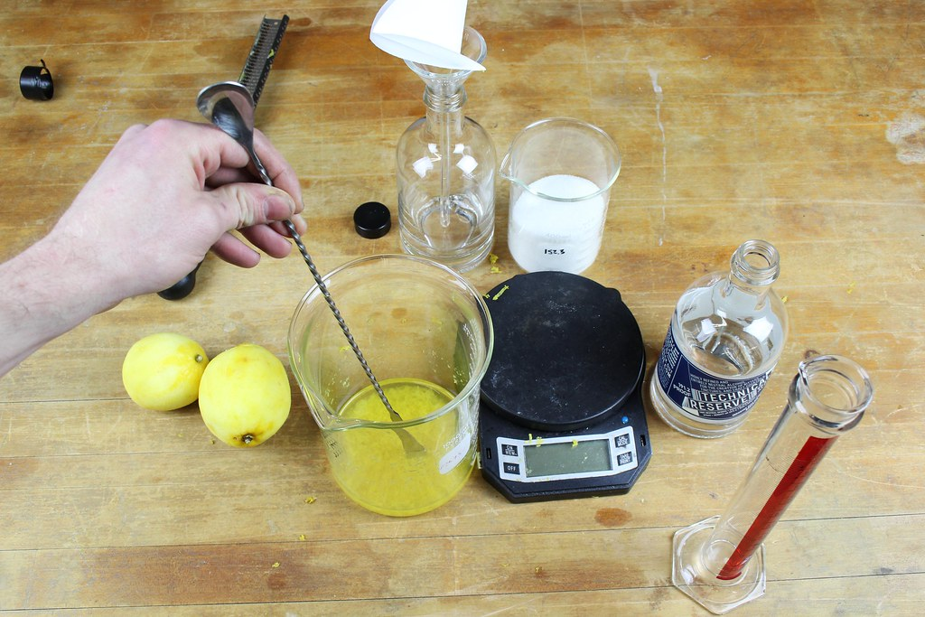 stir the lemon zest and Technical Reserve