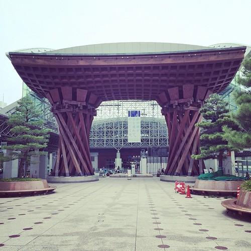金沢やって来たでー。