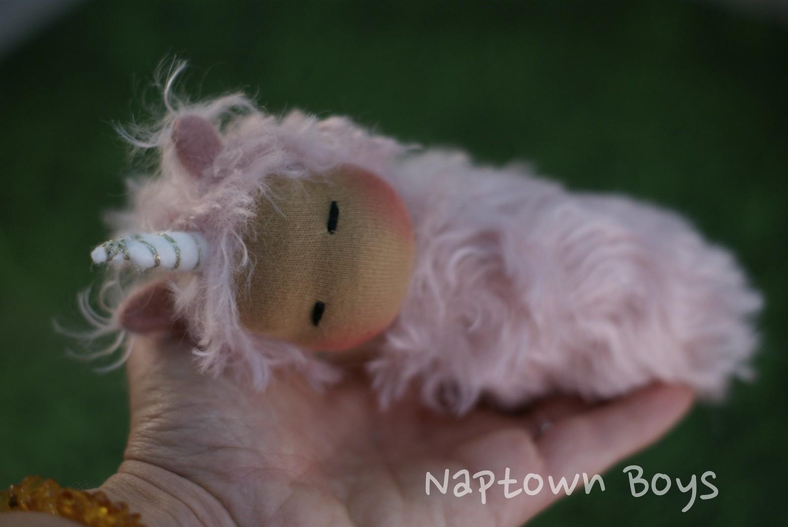 Naplet Unicorn- pink