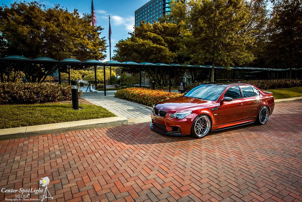 Not An E46 But A Beautiful Indianapolis Red Bmw M5 Photoshoot E46fanatics