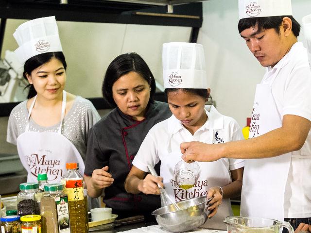 Maya Kitchen Class