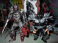"""NINJA TURTLES"" Movie :: SHREDDER  { tOKKustom MOVIE MANIAC } xx / ..with Chef Boyardee SUPER SHREDDER '93 (( 2014 ))"