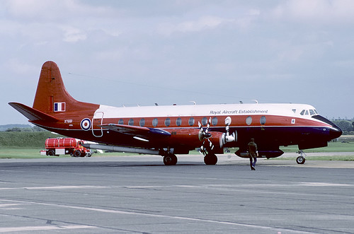 XT661 Viscount RAE, MOD(PE) Bedford | by Stuart Freer - Touchdown Aviation